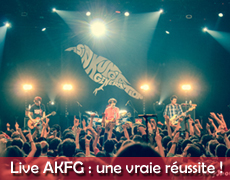 Live Report Asian Kung-Fu Generation au Bataclan