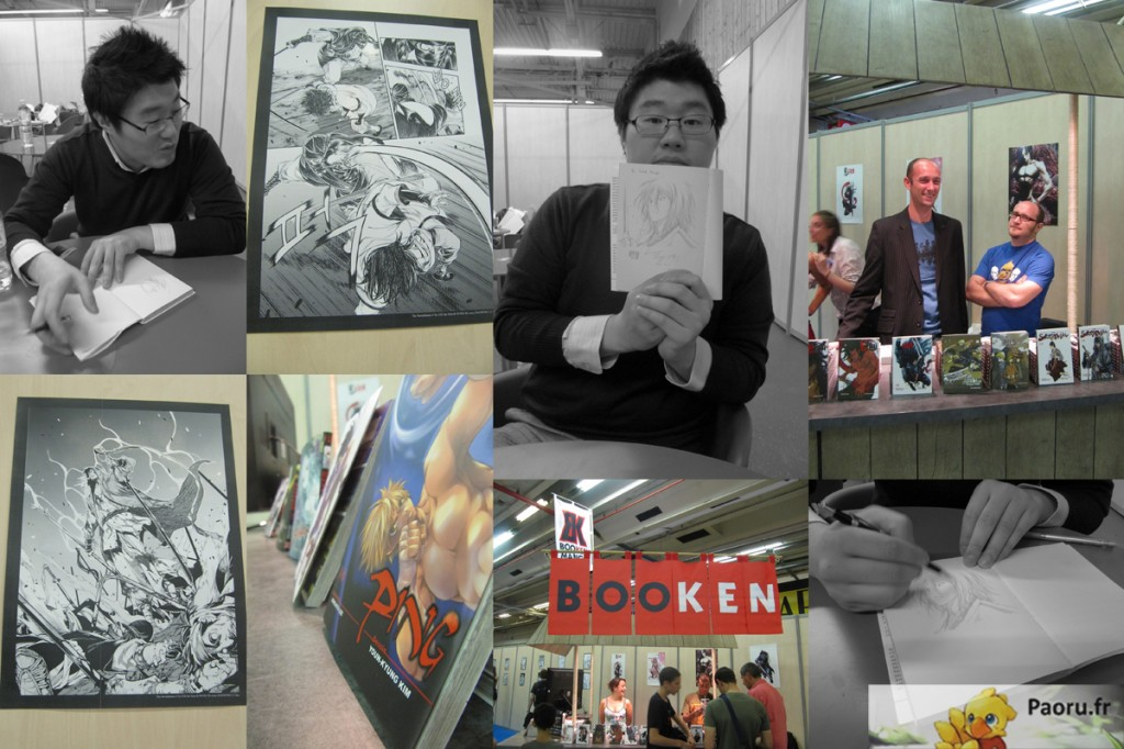 Hong Ki-woo & Booken Manga