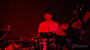 Kaoru, le batteur de miila and the Geeks