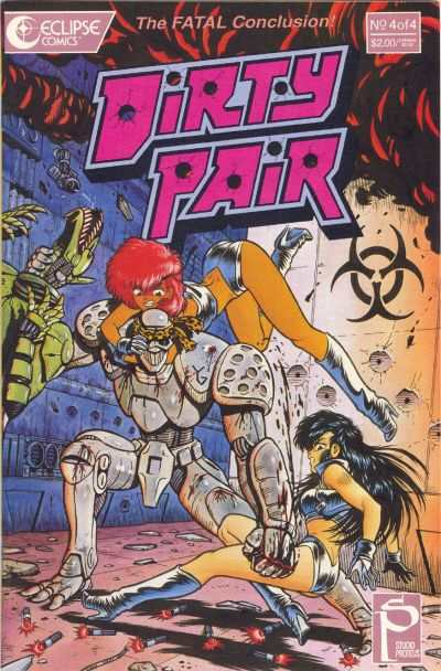 Dirty Pair, version US