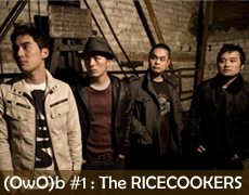 One Week One Band #1 : THE RICECOOKERS – Nami No Yukusaki