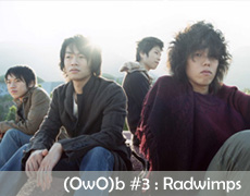 One week One band #3 : Radwimps