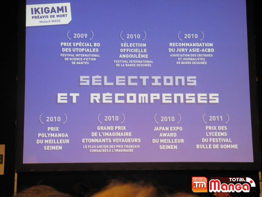 Récompenses Ikigami