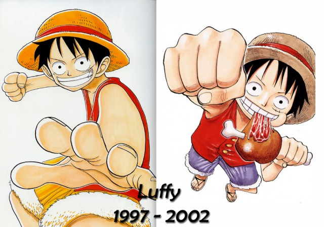 Luffy Color walk 1 puis 3