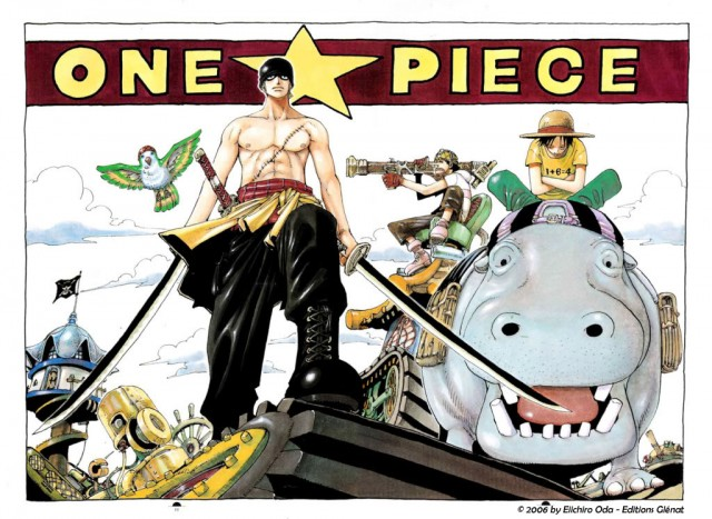 One Piece Color Walk 3