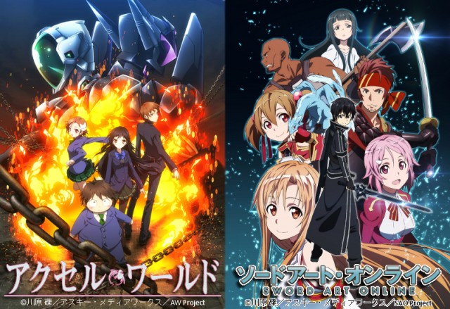 Accel World - Sword Art on line