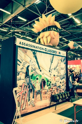 Assassination Classroom à Japan Expo 2013