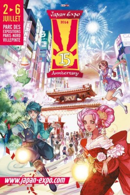 Japan Expo 15 affiche