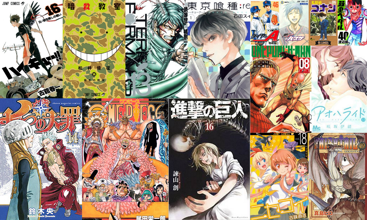 Ventes Manga Japon 1er Semestre 2015 Le Turn Over