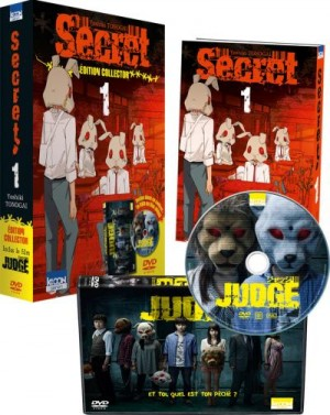 Secret - Judge Coffret Manga DVD