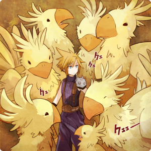 cloud_and_chocobo_by_tank2109-d3ay4ln